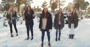"""5 LDS Sisters Sing """"Angels We Have Heard On High"""""""