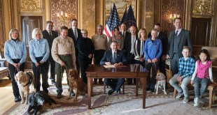 Jon Schmidt, Utah Politicians Honor K9 Rescue Team Who Found Annie Schmidt