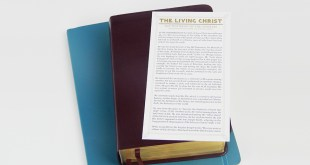 """""""The Living Christ"""" Is Now Available As A Bookmark"""