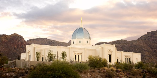 The LDS Tucson Arizona Temple Is Dedicated