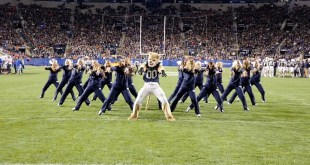 BYU's Cosmo the Cougar Dishes Out Another Epic Dance Performance