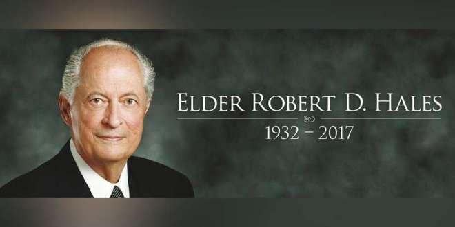 Elder Robert D. Hales Dies at Age 85