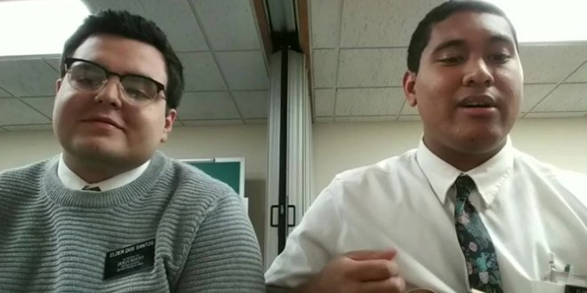 These LDS Missionaries Sing Awesome Rendition of I'm Trying to Be Like Jesus