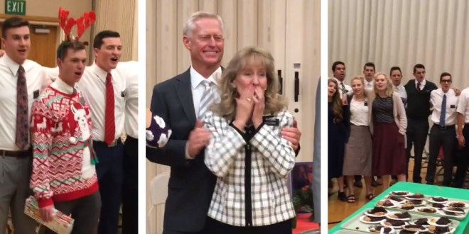 """WATCH: LDS Missionaries Sing """"We'll Bring the World His Truth"""""""