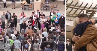 LDS Violinist Proposes to Girlfriend in Epic Flash Mob
