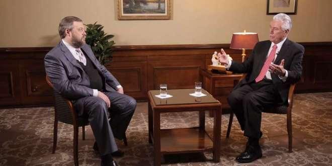 Elder Uchtdorf Discusses Future Russia Temple