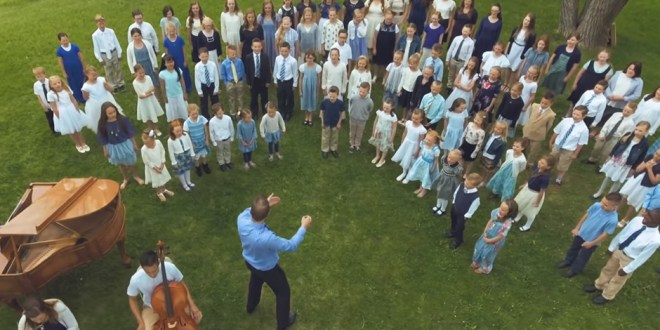 """Adorable (and Talented!) Children's Choir Sings """"My Heavenly Father Loves Me"""""""