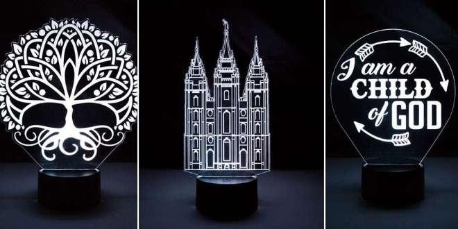 NEW Illuminated Desk Lights for Latter-day Saints