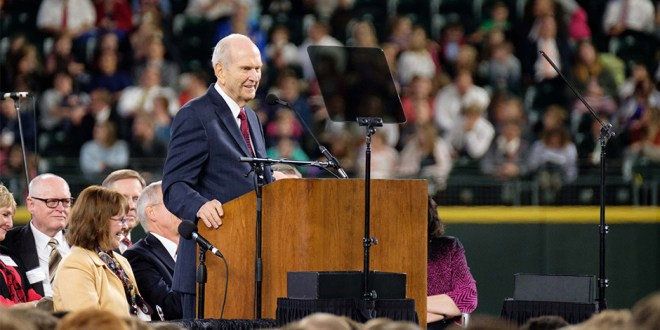 President Nelson Shares Life Lessons in Pacific Northwest