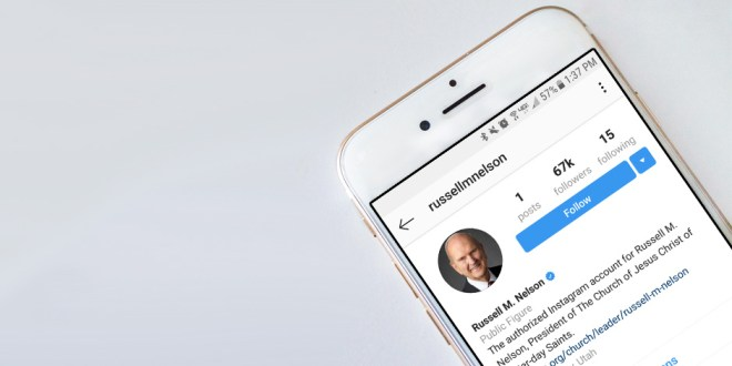 First Presidency, Quorum of the Twelve Join Instagram