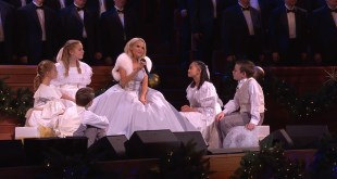 Kristin Chenoweth Rings in Christmas With The Tabernacle Choir