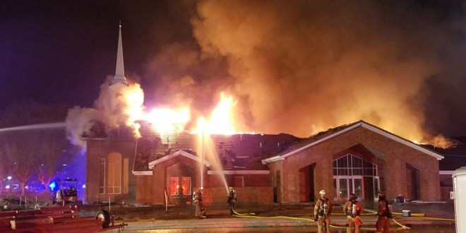 New Stake Center Near St. George Temple Destroyed By Fire