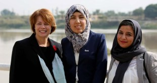 """Sister Eubank Shares About Visit to Iraq, """"Audible Gasp"""" at a Female Religious Leader"""