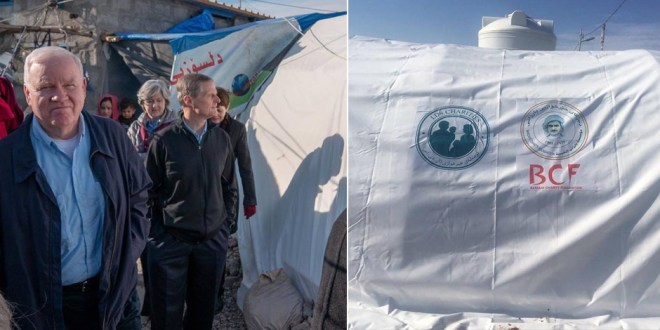 Elder Bednar Tours Iraqi Refugee Camp