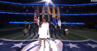 Watch Gladys Knight's National Anthem at Super Bowl LIII