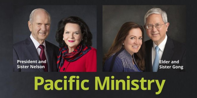 President and Sister Nelson to Tour 7 Pacific Destinations