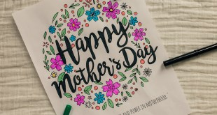 FREE Happy Mother's Day Coloring Page Printable