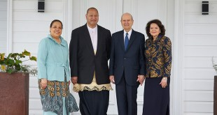 President Nelson Meets with King & Queen of Tonga