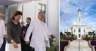 First Apostle from Brazil Dedicates Fortaleza Brazil Temple