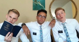 These Latter-day Saint Missionaries Share the Gospel in Original Rap