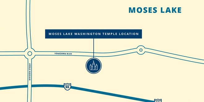 Church Announces Site for Moses Lake Washington Temple