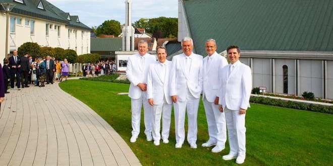 Elder Uchtdorf Rededicates Frankfurt Germany Temple