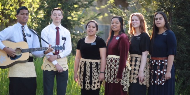 Missionaries Sing Gorgeous Hymns from the Kingdom of Tonga