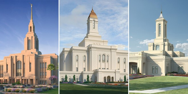 New Renderings Released for Temples in Washington & Utah