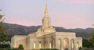 Exterior Rendering Released for Mendoza Argentina Temple