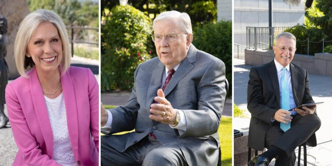 Latter-day Saint Leaders Honor Pioneers of Past and Present