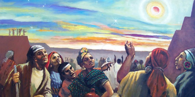 Book of Mormon FHE Lesson - Lift Up Your Head and Be of Good Cheer