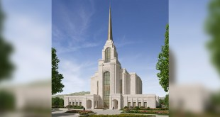 Rendering of Syracuse Utah Temple Released
