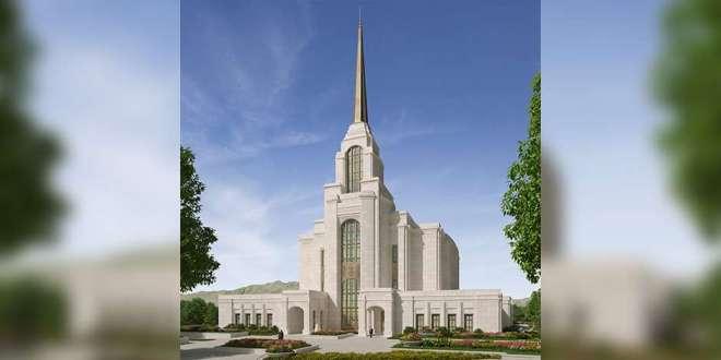 Rendering of Syracuse Utah Temple Released