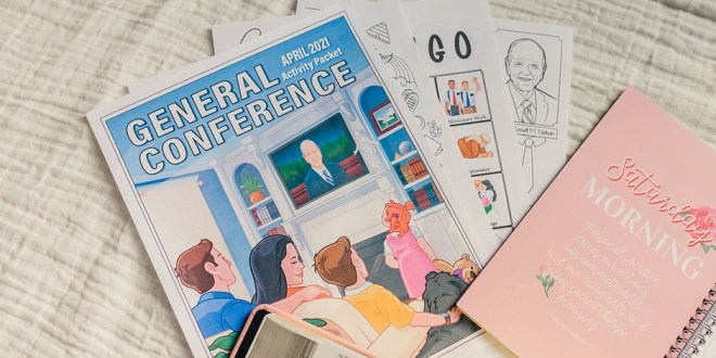 FREE General Conference Activity Packet (April 2021)