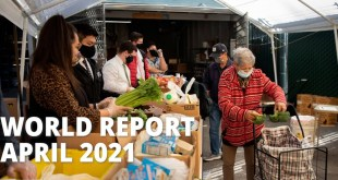 Watch the April 2021 Edition of The World Report