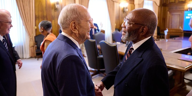 """First Presidency and NAACP Leaders Announce a Shared Vision to """"Learn from and Serve One Another"""""""