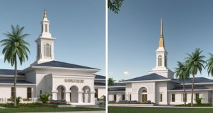 Here's Your First Look at the New Temples in Samoa & Tonga