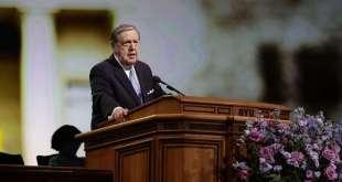 Elder Holland Urges Saints to Stay Close to Savior