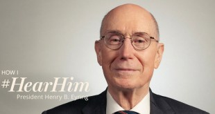 President Eyring Says We Can #HearHim Through Others