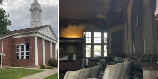 Three Suspicious Fires Damage LDS Meetinghouses in St. George