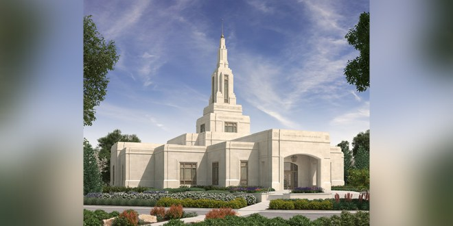 Exterior Rendering Released for Farmington New Mexico Temple