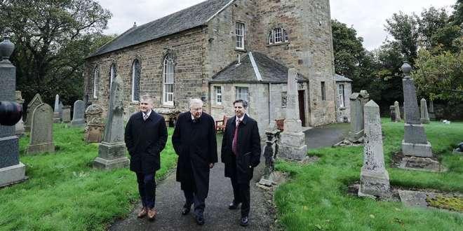 Three Latter-day Saint Apostles Begin Visit to Great Britain