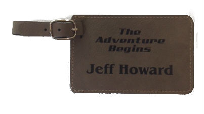 Missionary Luggage Tag