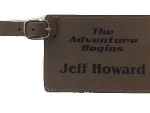 Missionary Luggage Tag