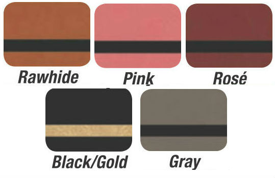 Luggage Tag Leather Swatches