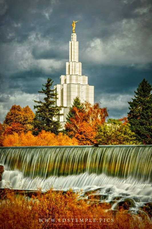 Feel free to call if you have questions: Idaho Falls Temple - Joy Runneth Over - LDS Temple Pictures