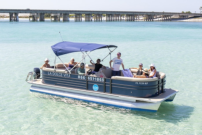Destin Pontoon Boat Rental