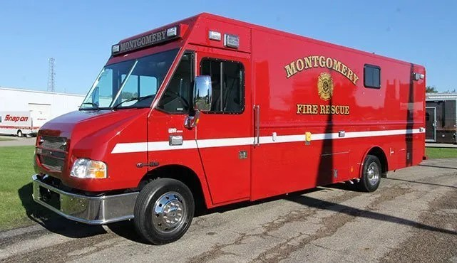 Montgomery Fire Department Dive Truck Ldv
