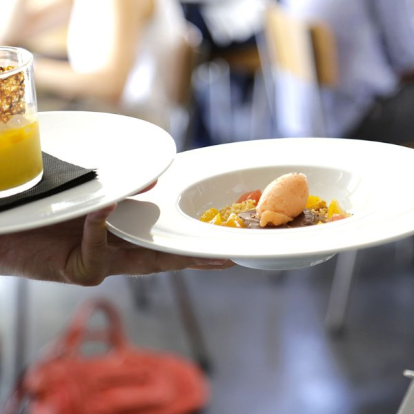 Dessert-au-service