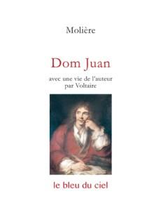 couverture du livre de Molière | Dom Juan | 1665